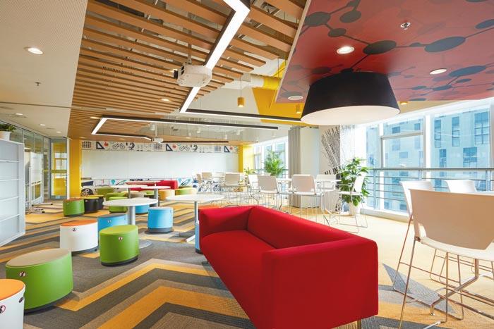 网络公司办公室装修设计案例