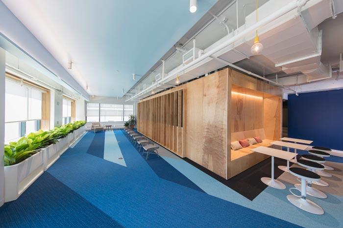 网络服务商办公室装修设计案例