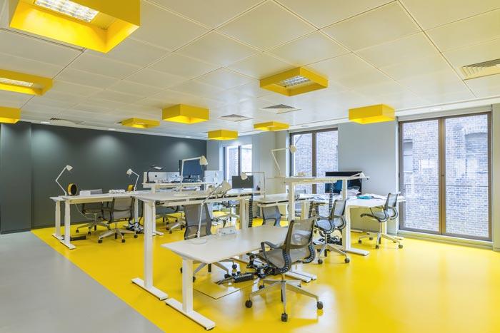 金融服务公司办公室装修设计效果图
