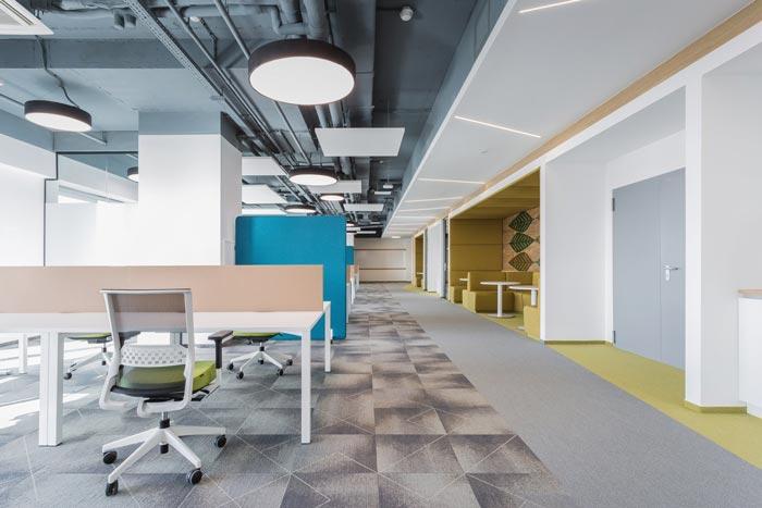 互联网金融公司办公室装修设计效果图