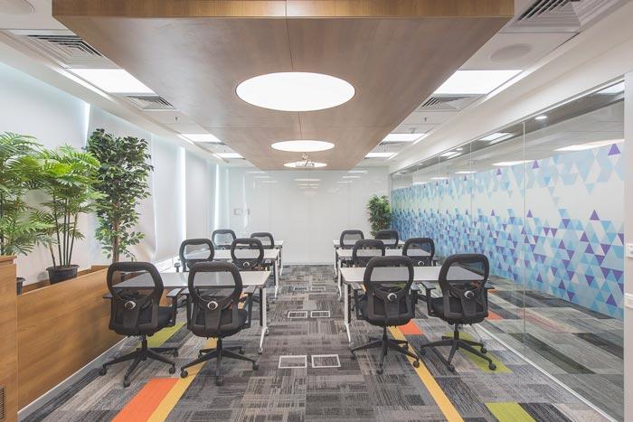 互联网服务提供商办公室装修设计案例
