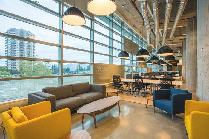 共享创业空间办公室装修设计案例