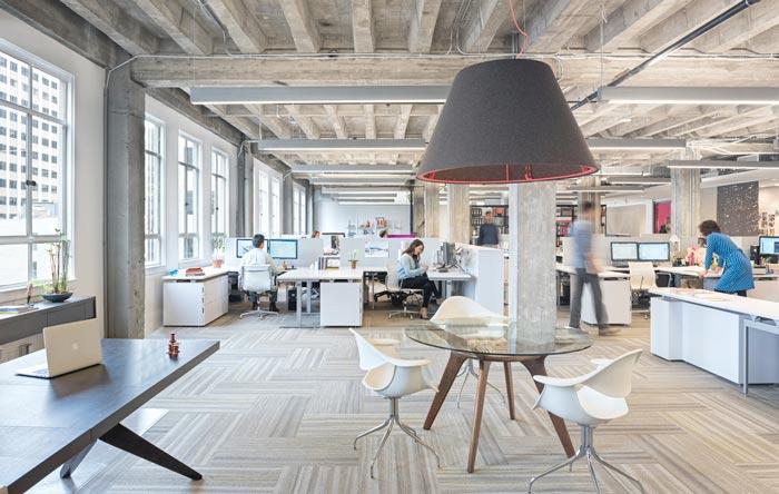 建筑事务所办公室装修设计案例