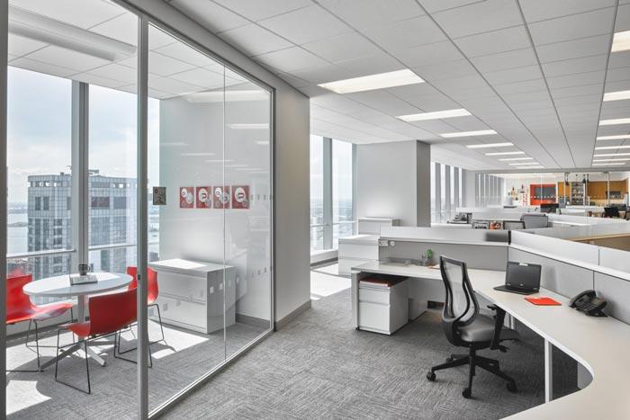 公关公司办公室装修设计案例