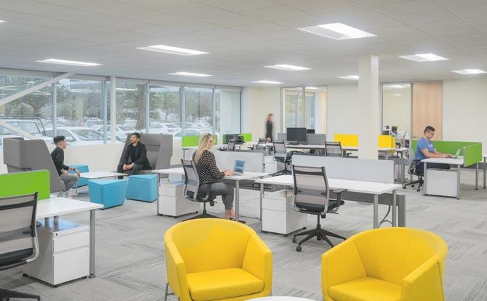 投资者服务公司办公室装修设计案例