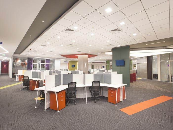 大数据服务商办公室装修设计案例