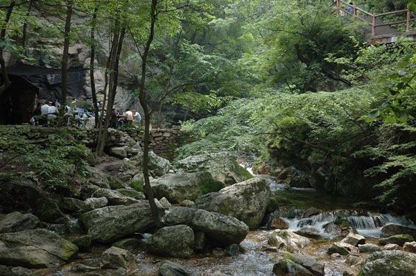森林公园山水效果图