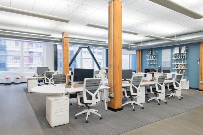 用户体验设计公司办公室装修设计案例