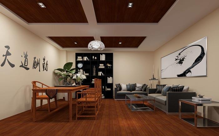 新中式loft风格办公室装修设计案例