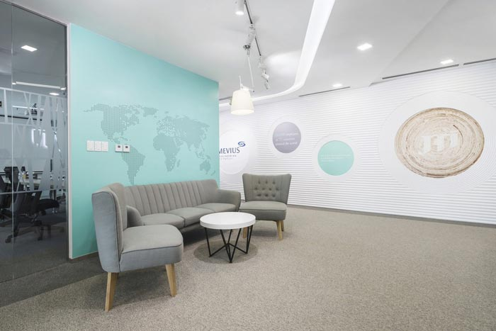 创意混搭办公室装修设计案例