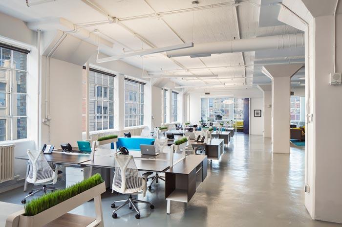 创意营销公司办公室装修设计案例