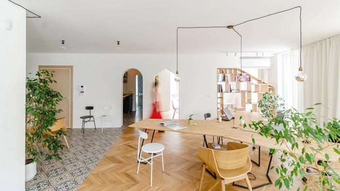 公寓办公室装修设计案例