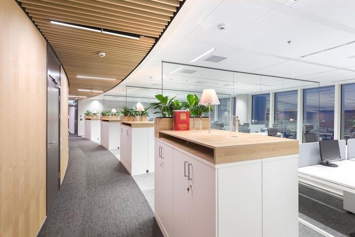 现代简约风格办公室装修设计案例