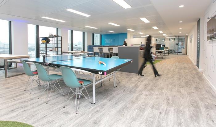 解决方案提供商办公室装修设计案例