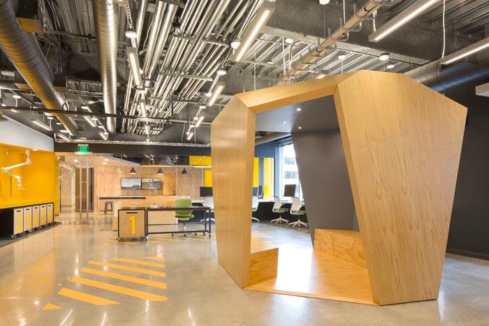 灵活创意办公空间装修设计案例