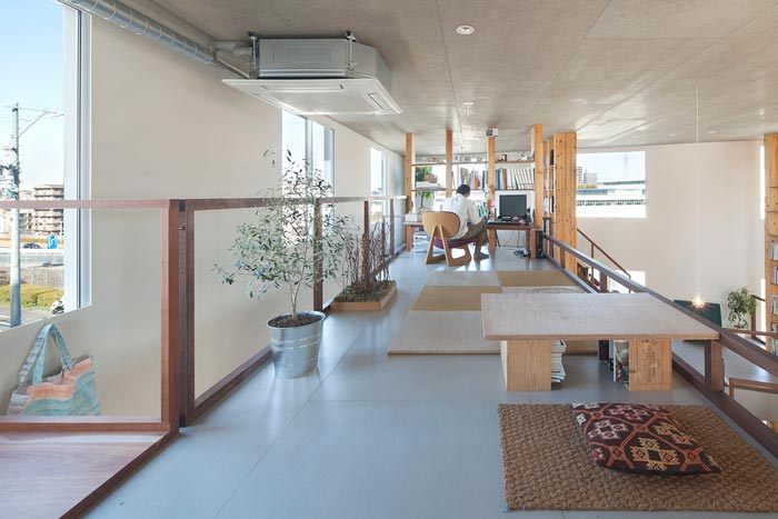 loft风格设计工作室装修设计案例