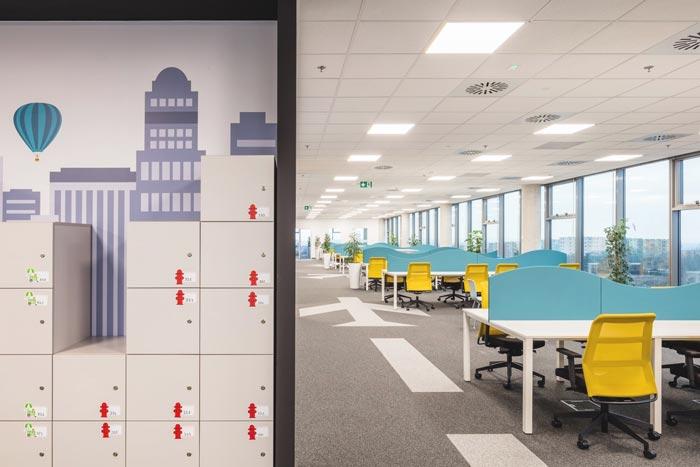 互联网旅游公司办公室装修设计案例