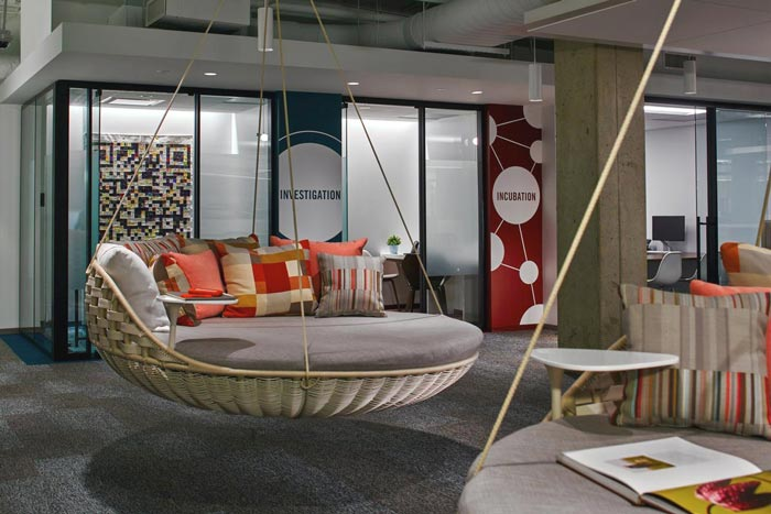 顾问公司办公室装修设计实景图