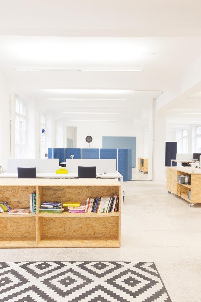 400平方数字营销公司办公室动线装修设计实景图