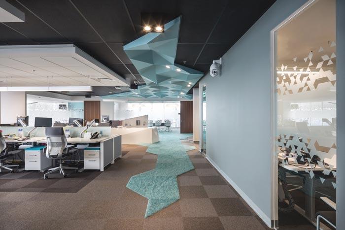 货运公司办公室装修设计实景图
