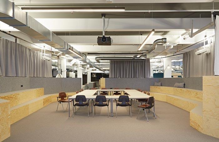 开放创意办公室会议室装修设计实景图