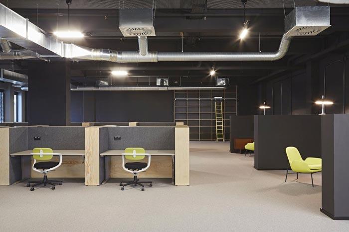 开放创意办公室办公区域装修设计实景图