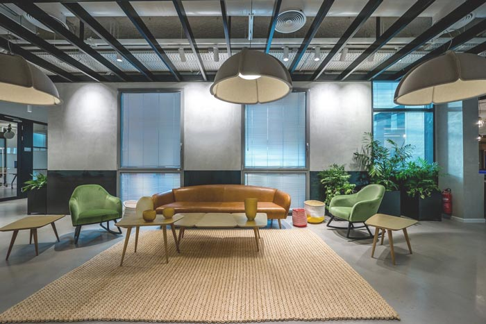 咨询服务公司办公室装修设计案例