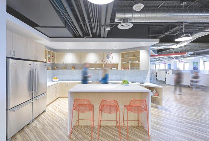 生物技术服务公司办公室装修设计案例