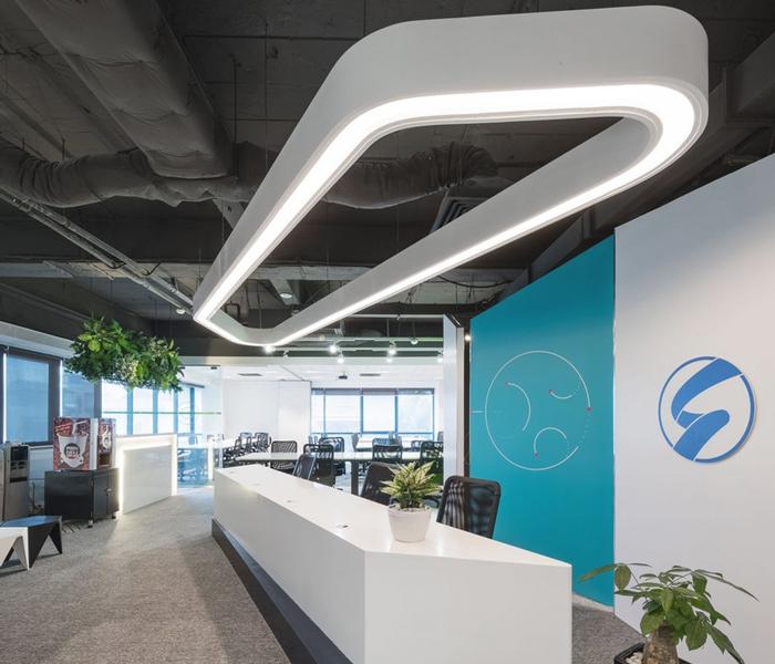 小型传媒公司办公室装修设计案例