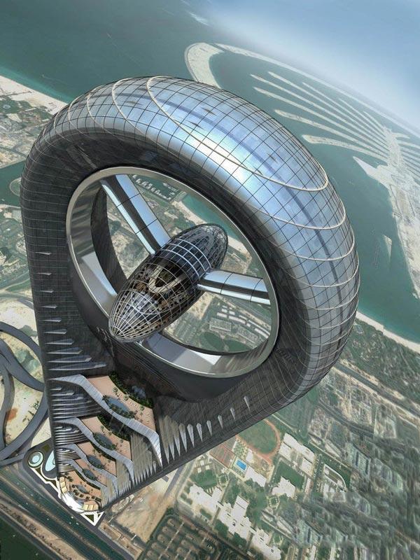 迪拜即将再建豪华摩天大楼Anara Tower效果图