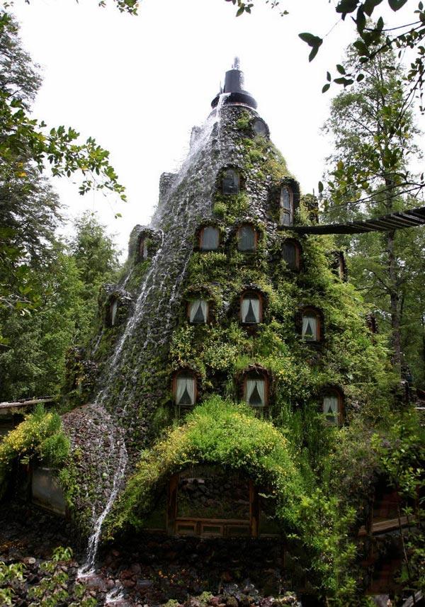 智利魔术山旅馆效果图
