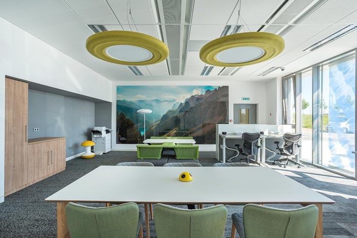 软件技术公司办公室装修设计案例