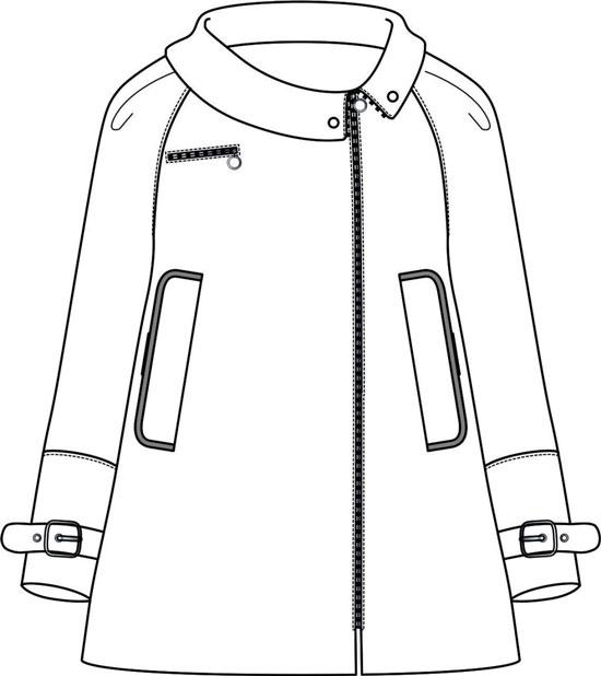 外套效果图
