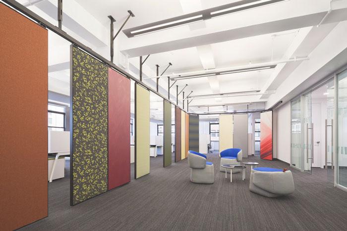 纺织服装公司办公室装修设计案例