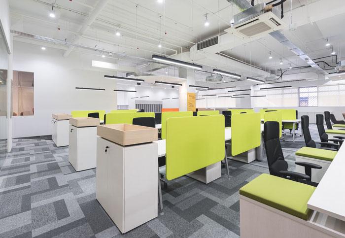 服装设计公司办公室装修设计案例