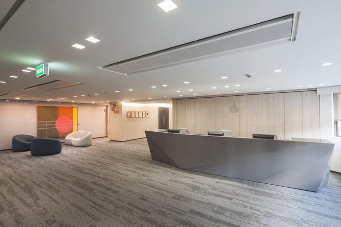 贷款金融公司办公室装修设计效果图