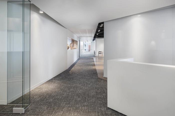 金融投资公司办公室装修设计效果图
