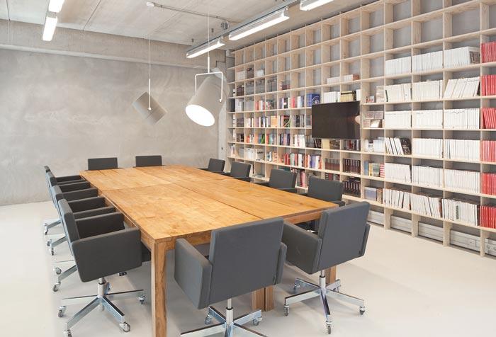 新媒体现代简约办公室装修设计案例