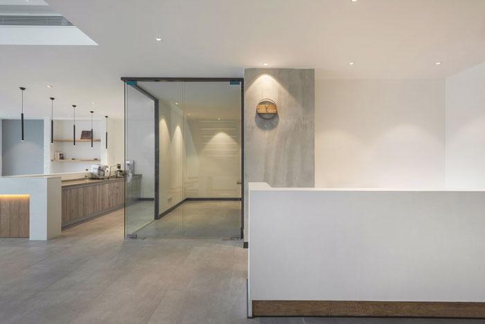 300平方loft风格办公室装修设计案例