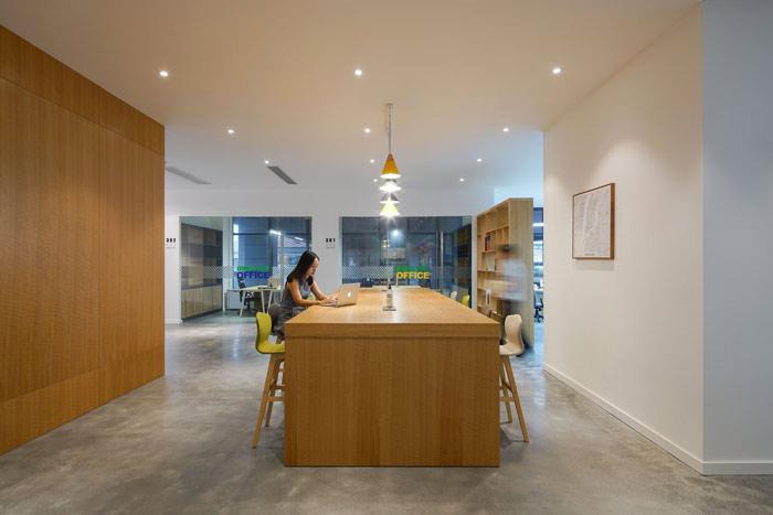 设计公司办公室进门区域设计方案