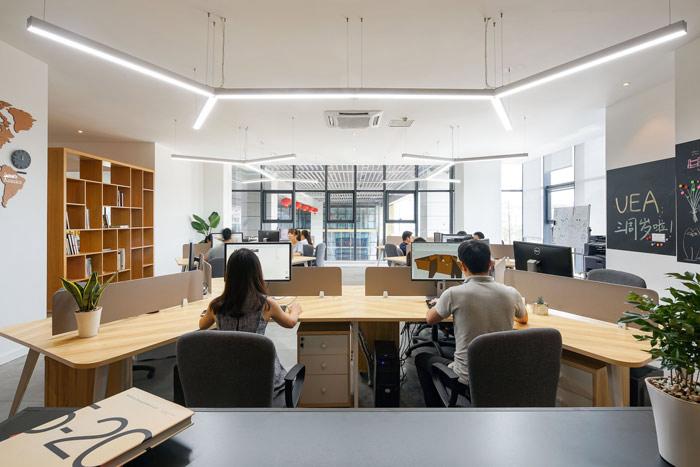 设计公司办公室办公区域设计方案