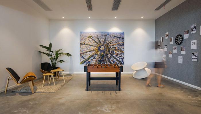 设计公司办公室休息区域设计方案