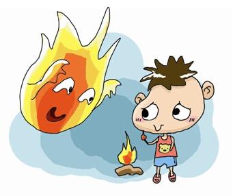 预防消防玩火效果图