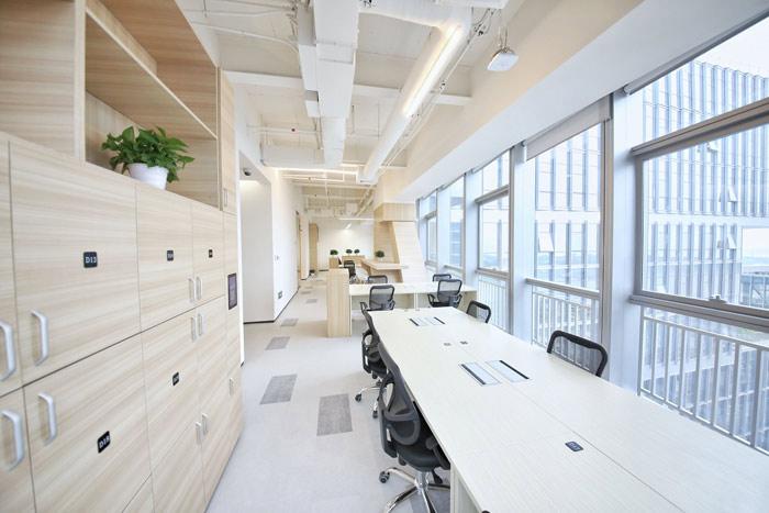 联合办公空间办公区域设计方案