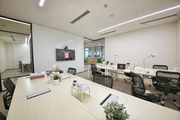 联合办公空间独立办公区域设计方案