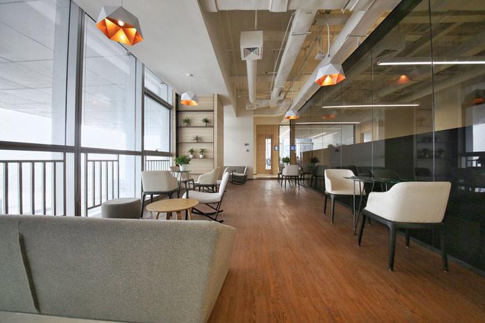 联合办公空间交流区域设计方案