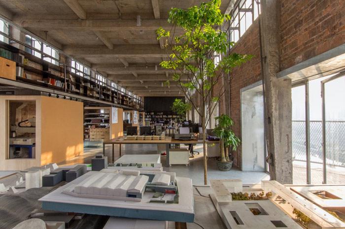 厂房LOFT风格办公室装修设计案例