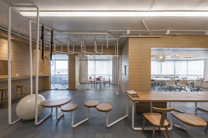 IT创业公司办公室装修设计案例
