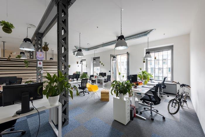 节能技术公司办公室装修设计案例