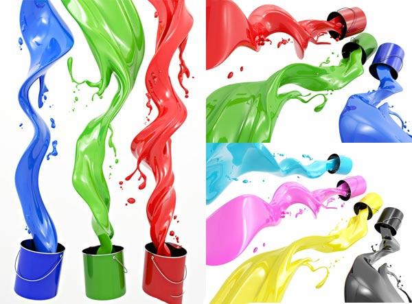 涂料、油漆效果图